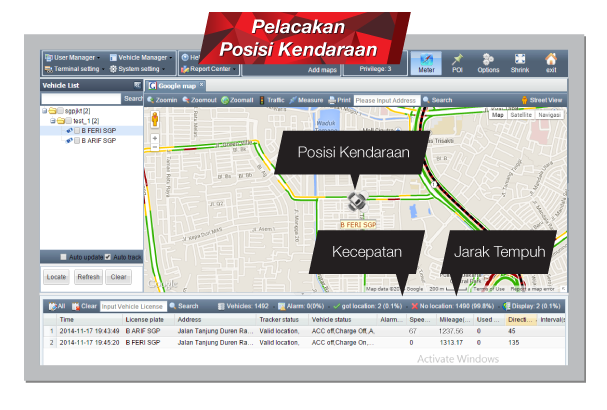 Page GeoTracker - screenshoot 4