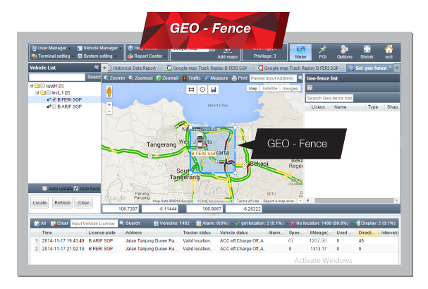 Page GeoTracker - screenshoot 5